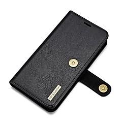 Для Кошелек Бумажник для карт со стендом Кейс для Чехол Кейс для Один цвет Твердый Натуральная кожа для Huawei Huawei P9 Huawei Mate 9