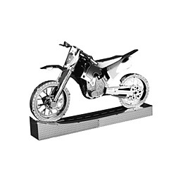 ieftine -Jucării pentru mașini Puzzle 3D Puzzle Puzzle Metal Toy Motociclete Motocicletă Jucarii Motocicletă Clădire celebru Arhitectură 3D