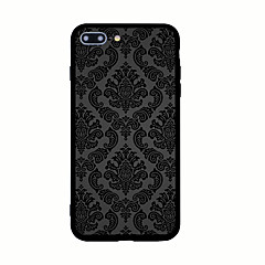 Kompatibilitás iPhone X iPhone 8 tokok Minta Hátlap Case Csempe Kemény Akril mert Apple iPhone X iPhone 8 Plus iPhone 8 iPhone 7 Plus