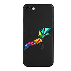 Недорогие Кейсы для iPhone 5с-Кейс для Назначение Apple iPhone X iPhone 8 iPhone 8 Plus С узором Кейс на заднюю панель Геометрический рисунок Мягкий Силикон для iPhone