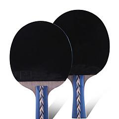 5 gwiazdek Ping Pang/Rakiety tenis stołowy Ping Pang Guma Krótki uchwyt Pryszcze