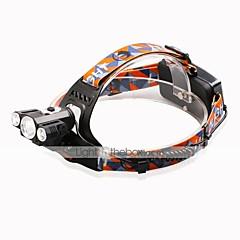 お買い得  ヘッドランプ-2500 lm ヘッドランプ / 自転車用ヘッドライト LED 4.0 モード - U'King ズーム可能 / 焦点調整可 / ハイパワー