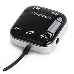 Недорогие Автоэлектроника-bt760 автомобиля Bluetooth аудио приемник Bluetooth FM передатчик автомобильный телефон Bluetooth встроенный микрофон