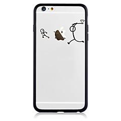 Недорогие Кейсы для iPhone 7 Plus-Кейс для Назначение Apple iPhone 7 Plus iPhone 7 С узором Кейс на заднюю панель Композиция с логотипом Apple Твердый Акрил для iPhone 7