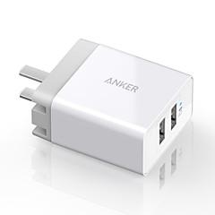 Laddningsskal Till iPad Till mobil Till surfplatta 2 USB-portar USA-kontakt