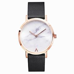 preiswerte Tolle Angebote auf Uhren-Damen Armbanduhr Großes Ziffernblatt / Marmor Edelstahl Band Charme / Retro / Punkt Silber / Gold / Rotgold