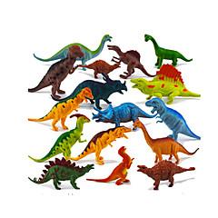 abordables muñecas-Dragones y dinosaurios Figuras de dinosaurios Dinosaurio jurásico Triceratops Tirano-saurio Rex El plastico Chico Niños Regalo