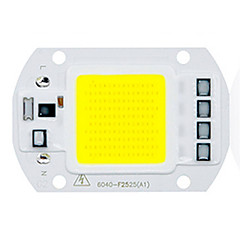 olcso LED-ek-1db COB 220-240V Fénylő LED Chip Alumínium a DIY LED Flood Light Reflektorhoz 50W