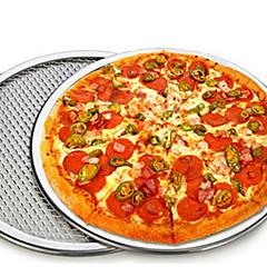 Bakken Borden & Pannen voor Pizza Aluminium Hoge kwaliteit Milieuvriendelijk Doe-het-zelf