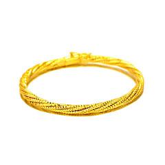 Браслет цельное кольцо Природа Мода Винтаж Медь Позолота 24K Plated Gold Круглой формы Бижутерия Назначение Свадьба Для вечеринок Особые