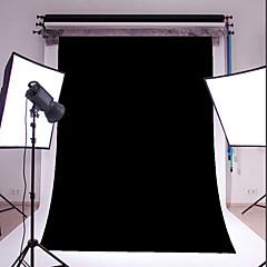3x5ft negro de vinilo fotografía fina telón de fondo del estudio apoyo de la foto