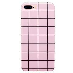Недорогие Кейсы для iPhone 7-Кейс для Назначение IPhone 7 / iPhone 7 Plus / iPhone 6s Plus IMD / С узором Кейс на заднюю панель Плитка Мягкий ТПУ для iPhone 7 Plus / iPhone 7 / iPhone 6s Plus