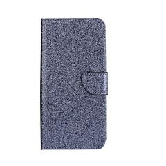 Недорогие Чехлы и кейсы для Huawei Mate-Для Бумажник для карт со стендом Флип Кейс для Чехол Кейс для Сияние и блеск Твердый Искусственная кожа для HuaweiHuawei P9 Lite Huawei