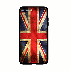 tanie Etui do iPhone 5-Kılıf Na Apple Wzór Etui na tył Flaga Twarde Akrylowy na iPhone 7 Plus iPhone 7 iPhone 6s Plus iPhone 6 Plus iPhone 6s iPhone 6 iPhone
