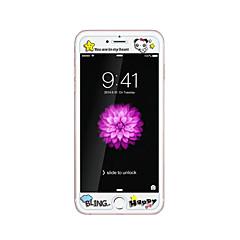 για Apple iPhone 6 / 6δ συν 5.5inch γυαλί διαφανές προστατευτικό μπροστά οθόνης με ανάγλυφο καρτούν λάμψη μοτίβο στο σκοτάδι panda