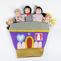 Fingerpuppe Spielzeuge Tiere Neuheit 1 Stücke