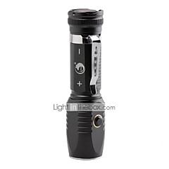 U'King LED Lommelygter LED 2000 lm 3 Tilstand Cree XM-L T6 Justerbart Fokus Genopladelig Klemme Camping/Vandring/Grotte Udforskning