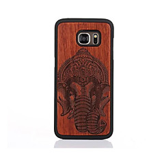 Etui Til Samsung Galaxy S7 edge S7 Mønster Bakdeksel Elefant Hard Tre til S7 edge S7