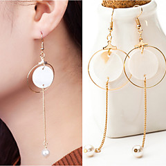 preiswerte Ohrringe-Damen Tropfen-Ohrringe - Stilvoll Gold / Silber Für Hochzeit Party Besondere Anlässe