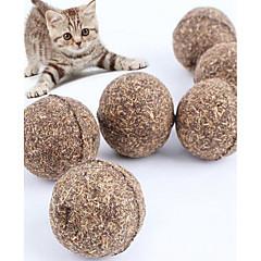 Χαμηλού Κόστους Παιχνίδια για γάτες-Παιχνίδι για γάτες Παιχνίδι για σκύλους Παιχνίδια για κατοικίδια Catnip Πειραχτήρια Ανθεκτικό Ξύλο Για κατοικίδια