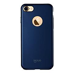 Недорогие Кейсы для iPhone 7 Plus-Кейс для Назначение Apple iPhone 7 Plus iPhone 7 Ультратонкий Матовое Кейс на заднюю панель Сплошной цвет Твердый ПК для iPhone 7 Plus