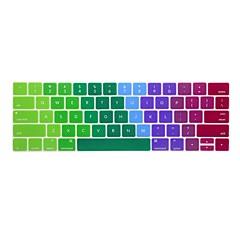 お買い得  MAC 用キーボード カバー-xskn®2016最新のMacBookのための英語カラフルなシリコーンキーボードの皮とtouchbarプロテクターは、タッチバーの網膜で13.3 / 15.4をプロ(アメリカレイアウト)