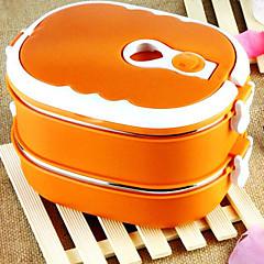 abordables Rangement de Cuisine-Acier inoxydable Haute qualité Boîtes à Repas Carré Organisation de cuisine