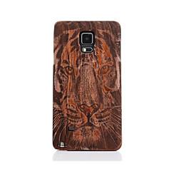 tanie Galaxy Note 4 Etui / Pokrowce-Na Wzór Kılıf Etui na tył Kılıf Wzór zwierzęcy Twarde Drewno na Samsung Note 5 Note 4