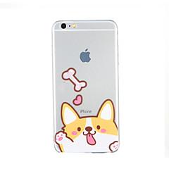 Для С узором Кейс для Задняя крышка Кейс для С собакой Мягкий TPU для AppleiPhone 6s Plus iPhone 6 Plus iPhone 6s Айфон 6 iPhone SE/5s