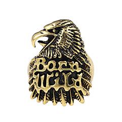 Bandringen Uniek ontwerp Logostijl Tatoeagestijl Vintage Kostuum juwelen Legering Dierenvorm Eagle Sieraden Voor Feest Speciale