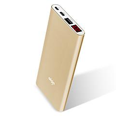 お買い得  モバイルバッテリー-パワーバンク外付けバッテリ 5 V 1.5 A / 2.1 A / # バッテリーチャージャー ケーブル付き / 自動電流切替 / シガレットライター LCD