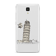 Voor Transparant Patroon hoesje Achterkantje hoesje Stadsgezicht Zacht TPU voor XiaomiXiaomi Mi 5 Xiaomi Mi 4 Xiaomi Mi 5s Xiaomi Mi 5s