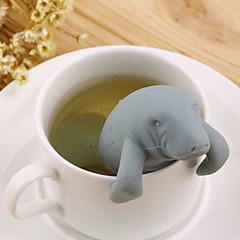 abordables Accesorios para té-El plastico Manual 1pc Colador de té