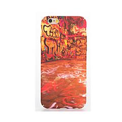 olcso iPhone 5S / SE tokok-Mert Foszforeszkáló Dombornyomott Minta Case Hátlap Case Punk Puha TPU mert AppleiPhone 7 Plus iPhone 7 iPhone 6s Plus iPhone 6 Plus