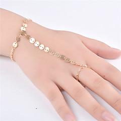 preiswerte Armbänder-Damen Ketten- & Glieder-Armbänder - Modisch Armbänder Gold / Silber Für Party / Besondere Anlässe