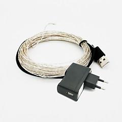 5W W Világítás készletek lm AC 85-265 10 m 100 led Meleg fehér RGB Piros Kék Zöld Rózsaszín