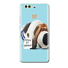 Varten Ultraohut Kuvio Etui Takakuori Etui Koira Pehmeä TPU varten HuaweiHuawei P9 Huawei P9 Lite Huawei P9 Plus Huawei P8 Huawei P8 Lite