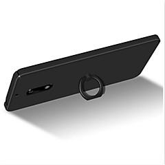 용 스탠드 링 홀더 울트라 씬 반투명 케이스 뒷면 커버 케이스 단색 하드 PC 용 Nokia Nokia 6