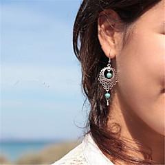 preiswerte Ohrringe-Damen Anhänger / Ohrringe baumeln - Träne Anhänger Stil, Retro, Böhmische Silbern Für Alltag / Normal