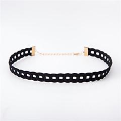preiswerte Halsketten-Damen Halsketten - Spitze Einzigartiges Design, Tattoo Stil, Grundlegend Weiß, Schwarz Modische Halsketten Für Hochzeit, Jahrestag, Geburtstag