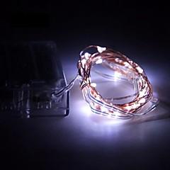 お買い得  LED ストリングライト-5m ストリングライト 50 SMD LED 温白色 / RGB / ホワイト バッテリー / IP65