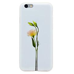 Для IMD С узором Кейс для Задняя крышка Кейс для Цветы Мягкий TPU для AppleiPhone 7 Plus iPhone 7 iPhone 6s Plus iPhone 6 Plus iPhone 6s