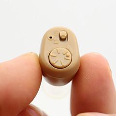 Недорогие Забота о здоровье-K-86 мини-регулируемые тона в ухе лучше невидимые улучшения звука глухой громкость помогает усилителю слуха