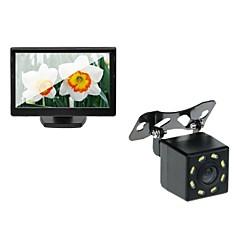 Недорогие Автоэлектроника-5T+628 720p Автомобильный видеорегистратор 170° Широкий угол 5 дюймовый Капюшон с Водонепроницаемый Автомобильный рекордер