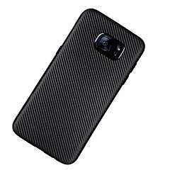 ケース 用途 Samsung Galaxy S7 edge S7 超薄型 バックカバー 純色 ソフト TPU のために S7 edge S7 S6 edge