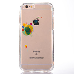 tanie Etui do iPhone-Na Przezroczyste Wzór Kılıf Etui na tył Kılıf Balon Miękkie TPU na AppleiPhone 7 Plus iPhone 7 iPhone 6s Plus iPhone 6 Plus iPhone 6s