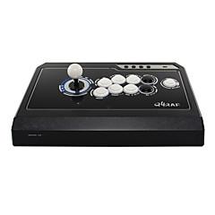 お買い得  ビデオゲーム用アクセサリー-QANBA Q4-3in1 BLACK/WHITE ケーブル ジョイスティック 用途 PC 、 ジョイスティック ABS 1 pcs 単位