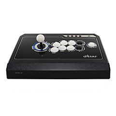 abordables Accesorios para Videojuegos-QANBA Q4-3in1 BLACK/WHITE Con Cable Joytick Para PC ,  Joytick ABS 1 pcs unidad