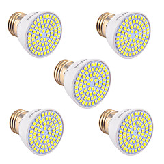 cheap LED Bulbs-YWXLIGHT® 5pcs 5W 400-500lm GU10 GU5.3(MR16) E26 / E27 LED Spotlight 72 LED Beads SMD 2835 Decorative Warm White Cold White Natural White