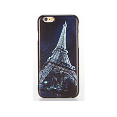Mert Dombornyomott Minta Case Hátlap Case Eiffel torony Puha TPU mert AppleiPhone 7 Plus iPhone 7 iPhone 6s Plus iPhone 6 Plus iPhone 6s